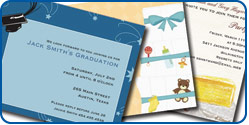 Invitations, Announcements and Postcards